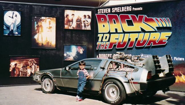Elijah, from 1988. Just three years after Marty McFly's first DeLorean trip.