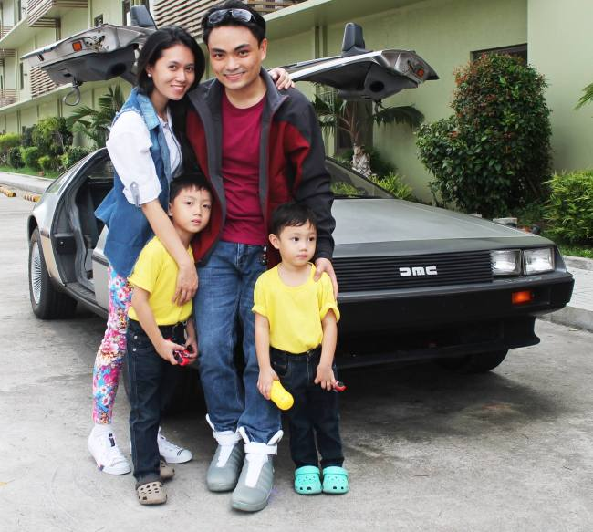 The McFly's, er, the McMendoza's!