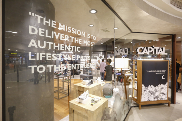 The Capital concept store opens in UP Town Center.