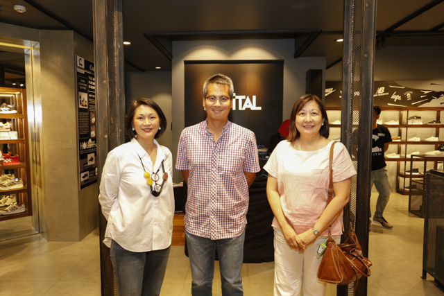 The people behind Capital, Managing Partner, Mae V. Cu Unjieng, Robin Cu Unjieng and Nikki La O'.