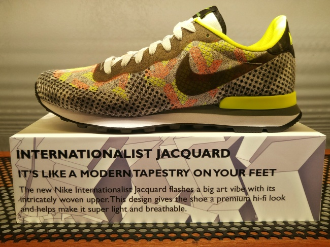 The Internationalist Jacquard from Nike is a work of sneaker art.