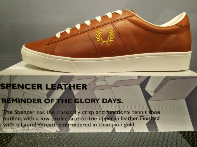 My kind of jam: Fred Perry Spencers.