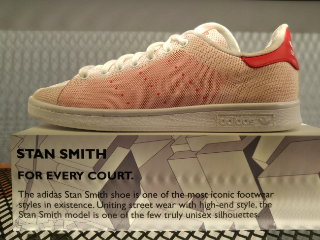 Among the iconic shoes you'll find at Capital are Adidas Stan Smiths.